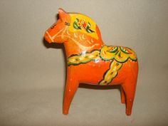 1940's Swedish Hand Carved Wooden MAGIC by PastPossessionsOnly, $39.95