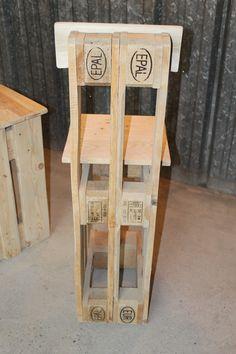 table et tabourets de palettes en bois meubles et objets diy pinterest tabouret de palette. Black Bedroom Furniture Sets. Home Design Ideas