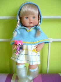 muñecas, patrones nancy famosa, patrones nenuco famosa, patrones barriguitas famosa, moda nancy, moda nenuco, moda lesly famosa, Baby Born, Harajuku, Decor, Style, Fashion, Doll Clothes, Pockets, Celebs, Patterns