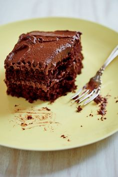 """The Cake That Cures Everything Recipe from """"My Kitchen Year."""" by Ruth Reichl Ultimate Chocolate Fudge Cake, Too Much Chocolate Cake, Chocolate Candies, Chocolate Heaven, Chocolate Desserts, Flourless Chocolate Cakes, Gluten Free Chocolate, Baking Recipes, Cake Recipes"""