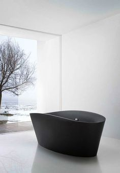 white black bathroom bathtub