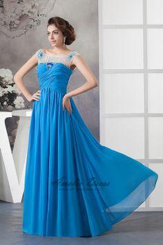 A-line Floor-length Dress