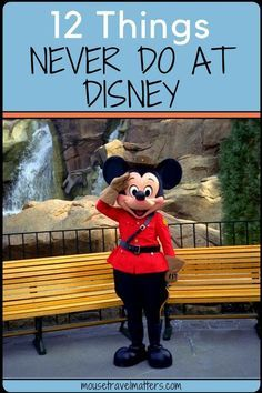 Disney vacations can be literally a production. The anticipation and planning can be quite stressful. 12 Things you should never do at Disney. Disney World Vacation Planning, Walt Disney World Vacations, Disney Planning, Vacation Ideas, Family Vacations, Orlando Vacation, Trip Planning, Disney Resorts, Vacation Packing