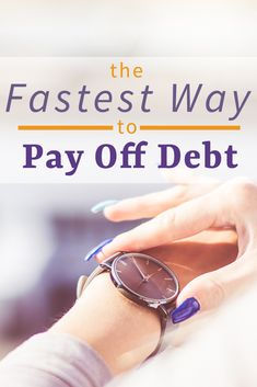 How to Pay Off Debt Quickly and Get On With Your Life