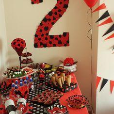 Urte's 2 birhday party - Ladybug Birthday Party