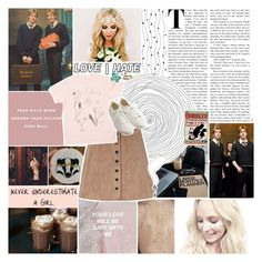 """""""simple badger girl"""" by queenrowan ❤ liked on Polyvore featuring GET LOST, Glamorous, Muji, Luna, hsowwbg and sams5yrchallenge"""