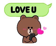 Cute Love Pictures, Cute Love Memes, Cute Love Gif, Love Smiley, Emoji Love, Cute Couple Cartoon, Cute Love Cartoons, Cony Brown, Brown Bear