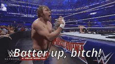 WWE really doesn't mind Ambrose saying the word bitch? o.O