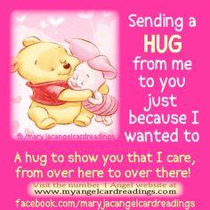 SENDING A HUG (( HUGS ))