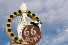 66 Bowl on Rte. 66 in Oklahoma City.