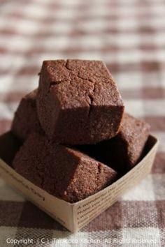 「【バレンタイン】ココアキューブクッキー」takacoco | お菓子・パンのレシピや作り方【corecle*コレクル】