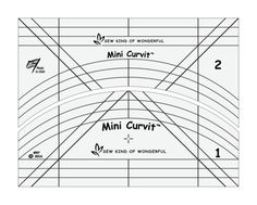 4.  Mini Curvit Long-arm Ruler Set