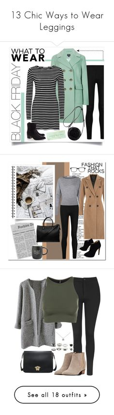 """""""13 Chic Ways to Wear Leggings"""" by polyvore-editorial ❤ liked on Polyvore featuring Leggings, waystowear, Donna Karan, M&S Collection, 3.1 Phillip Lim, Rachel Zoe, shoptilyoudrop, Urban Outfitters, rag & bone and Chico's"""