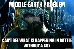 Middle Earth Problem: Can't see what is happening in battle without a box