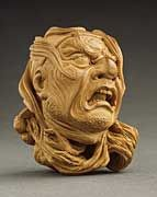 Shoko (Nishino Shotaro) (Japan, 1915 - 1969)   Severed Head of Samurai