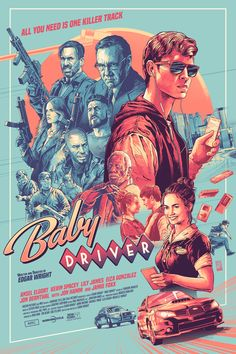 Baby driver by aurelio lorenzo screen print limited edition numbered detail feedback questions about award winning movie call me by your name retro poster bar cafe good quality printed drawing core decorative painting on aliexpress com alibaba group Iconic Movie Posters, Movie Poster Art, Poster S, Iconic Movies, Film Posters, Poster Prints, Cinema Posters, Screen Print Poster, Posters Vintage