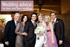 Are your future in-laws making your wedding planning a nightmare? Our wedding experts have some awesome advice for you!