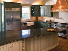 Beautiful Huggy Bear Painted Kitchen