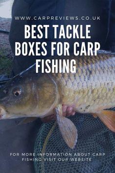 best tackle boxes for carp fishing #carpfishing #bigcarp Carp Fishing Tips, Carp Fishing Bait, Carp Fishing Tackle, Carp Tackle, Tackle Box, It Cast, Alternative, Boxes, Big
