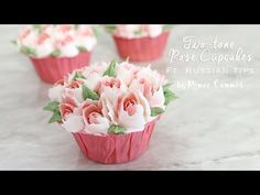 I finally broke down and bought a set of Russian Piping Tips... This is my first project using them, check out my Rose Cupcake ft. Russian Piping Tip! These ...