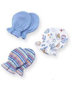 Amazon.com: Gerber Baby-boys Newborn 3 Pack Mitten, Blue, 0-3 Months: Clothing    http://www.amazon.com/Gerber-Baby-boys-Newborn-Mitten-Months/dp/B005J03YS6/ref=sr_1_3?ie=UTF8=1358480099=8-3=mittens+for+newborn+boys