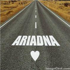 Nombre Ariadna / Name Ariadna / Ariadna / nombre / name / ruta / calle / route / viaje / travel
