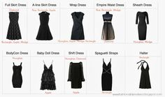 Best LBD for Your Shape: Hourglass and Diamond FiguresFashionably, Melissa... personal stylist