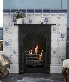 11 best tiled fireplaces images topps tiles tiled fireplace rh pinterest com