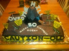 50th birthday cake for a friend