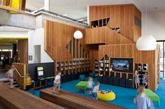 Bendigo Library Refurbishment | Bendigo, Victoria | Australia | Colour in Architecture 2016 | WAN Awards
