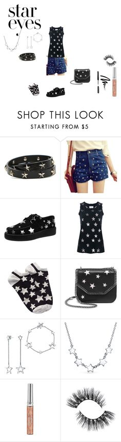 """""""we are all made of stars"""" by effyswanhaze on Polyvore featuring moda, RED Valentino, Current/Elliott, Free Press, STELLA McCARTNEY, Bling Jewelry, Sisley, Bobbi Brown Cosmetics e StarOutfits"""