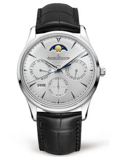 A classic, elegant example ofJaeger-LeCoultreexpertise, the Master Ultra Thin Perpetual watch in stainless steel contains a perpetual calendar function in its extremely thin case. This model is available exclusively inJaeger-LeCoultreboutiques. Reference130842J