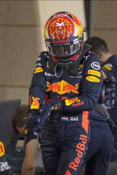Max Verstappen Sakhir Bahrein 16-04-2017.