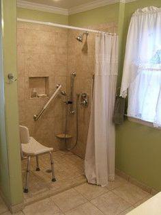 Handicap Design | Bath Photos Handicapped Accessible Design, Pictures, Remodel, Decor ...