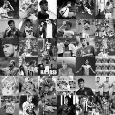 Collage :3 Lional Messi, Soccer Stars, Neymar Jr, Football Players, Fifa, My Hero, Guys, Collages, Brazil