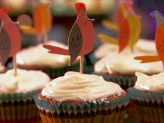 Hummingbird Cupcakes from FoodNetwork.com