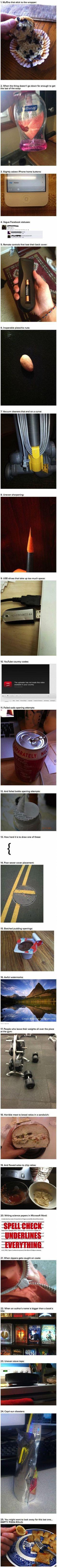 25 first world problems