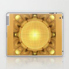 CenterViewSeries092 (SunnySideVariation) Laptop & iPad Skin by fracts - fractal art - $25.00