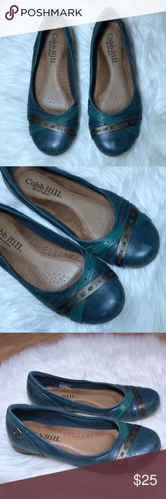 Cobb Hill Flats Cobb Hill Flats very comfortable with scuffs and marks from normal wear but with lots of life left 👌🏼 Cobb Hill Shoes