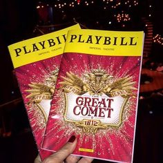 Natasha, Pierre and the Great Comet of 1812 - Picture of Natasha, Pierre and the Great Comet of New York City - Tripadvisor Great Comet Of 1812, The Great Comet, Peter The Great, Sing Street, Old Prince, Musical Theatre Broadway, Theatre Geek, West Side Story, And Peggy