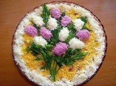 """Салат """"Весенний букет"""", рецепт приготовления"""