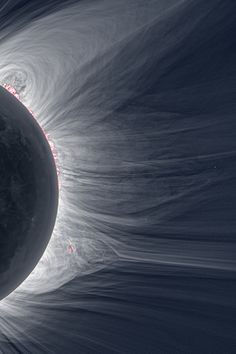 """See a total solar eclipse. [Detailed View of a Solar Eclipse Corona """"Only in the fleeting darkness of a total solar eclipse is the light of the solar corona easily visible."""