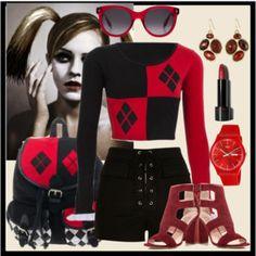 Harley Quinn Inspired