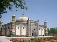 Apak Hoja Tomb, famous attraction in Xinjiang.