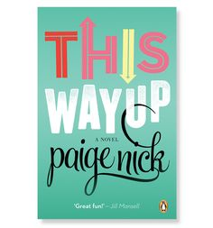 Paige Nick - Book Covers - Velcro Suit - The Graphic Design and Illustration of Adam Hill
