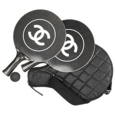 Chanel Paddle Ball Set available at Chanel Bal Harbour. This puts a new meaning to competitive sporting!