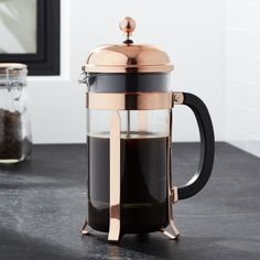 Free Shipping.  Shop Bodum ® Chambord Copper 34 Ounce French Press.