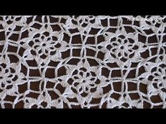 Crochet flower motif. Tutorial. How to crochet poncho Part 1 - YouTube