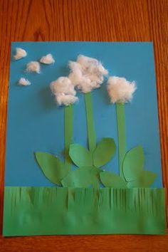 plants - dandelion craft