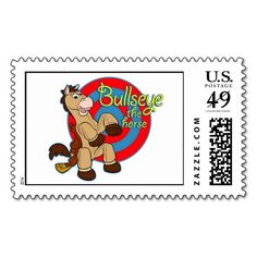 Shop Toy Story's Bullseye Postage created by ToyStory. Personalize it with photos & text or purchase as is! Special Promotion, Price Drop, Toy Story, Postage Stamps, Cool Toys, Sticks, Best Gifts, Shops, Easy